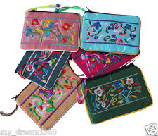 Wholesale 10pcs Chinese Brocade Embroider Mobile Phone Pouches Wallet Bags