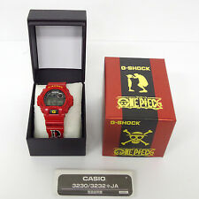 CASIO G-SHOCK x ONE PIECE MONKEY D LUFFY DW-6900FS Red Anime Japan