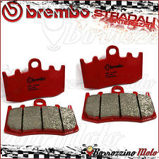 4 PLAQUETTES FREIN AVANT BREMBO SA ROUGE FRITTE 07BB26SA BMW K 1200 S 2007 2008