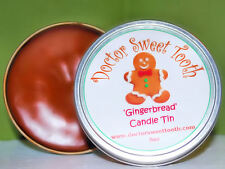 GINGERBREAD COOKIES Scented Candle Tin 8oz