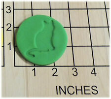 Cat Silhouette Fondant Cookie Cutter and Stamp #1302