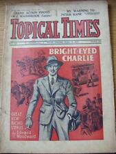 19/06/1937 Topical Times Magazine: No.0918) Inside: New Zealand Touring Cricket