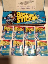 1979 Fleer Baseball Stickers Wax Pack Guaranteed Unopened And Unsearched