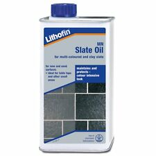 Lithofin MN Slate Oil -Enhancer/Colour Intensifier For Flooring, Hearths & Tiles