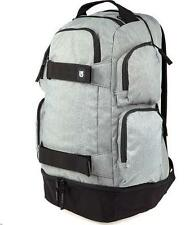 ZAINO BURTON DISTORTION PACK 29L GREY HEATHER BACKPACK SNOWBOARD SKATE