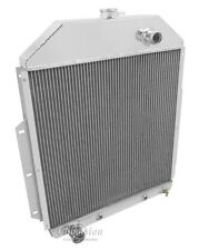 42 43 44 45 46 47 Ford Pickup Truck w/Ford V8 Champion 3 Row Aluminum Radiator