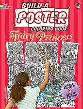 Dover Publications-Build A Fairy Princess Poster Coloring, New