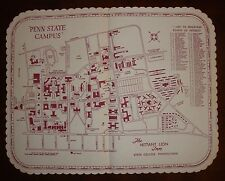 Vintage Advertising Paper Placemat - The Nittany Lion Inn State College PA - PSU