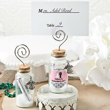 24 Personalized Guardian Angel Wishing Jar Birthday Baby Party Wedding Favors