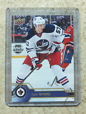 16-17 UD Series 1 RARE Promo Set JETS Heritage Classic #JET-2 TYLER MYERS