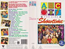 ABC FOR KIDS  SHOWTIME VIDEO PAL  VHS ~ A RARE FIND