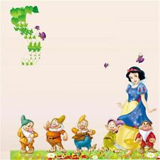Home Decor Snow White And The Seven Dwarfs Mural Decal Removable Wall Stickers
