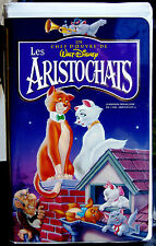 Les Aristochats/FRENCH-FRANÇAIS/collection chefs-d'œuvres/RARE VHS MOVIE DISNEY
