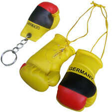 GERMANY Flag Mini Boxing Gloves / Miniature Boxing Gloves & Key Chain