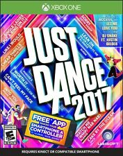 Just Dance 2017 (Microsoft Xbox One, 2016) *New&Sealed*