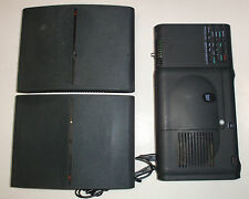 Yamaha YST 99CD Portable Stereo System with YST-SF99 Wall Mount Speakers