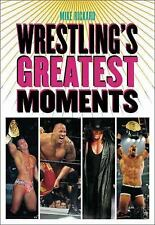 Wrestling's Greatest Moments, Rickard, Mike, New Books