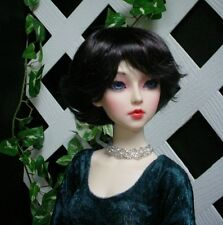 "Doll Wig, Monique Gold ""Roxie"" Size 5/6  - Nearly Black"