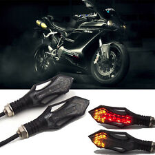 3in1 Sword Shaped Motorcycle 12 LED Turn signals Light Brake and Warning Lights