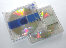 "Two (2) Minidisc TDK ""m"" MD-80 '2006 (new and sealed)"