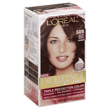 L'Oreal Excellence Hair Color #5RB, Medium Reddish Brown