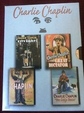 Charlie Chaplin-City Lights/The Great Dictator/Modern Times/The Gold Rush (DVD)
