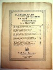 Our Boys Over There March Vintage Sheet Music 1918 Bach Music Company Piano Rare