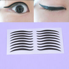 40 Pairs Black Cat Temporary Eyeliner Eyeshadow Stickers Cosmetic Makeup Fashion