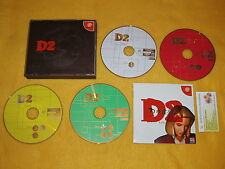 D2 WARP Eclipse Version Limited Edition  SEGA DREAMCAST DC JAPAN NTSC LOOK PHOTO