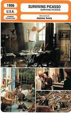 FICHE CINEMA : SURVIVING PICASSO - Hopkins,McElhone,Moore,Ivory 1996