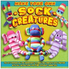 sock monkey and friends creature kit 5 disigns included