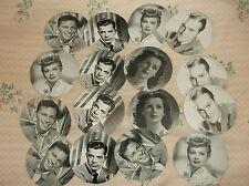 VTG Lot of 16  COMPACT Photos  MOVIE STARS  Lucille Ball SINATRA Bob Hope