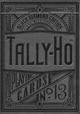 Black Diamond Tally Ho Playing Cards (Kings Wild - Jackson Robinson)