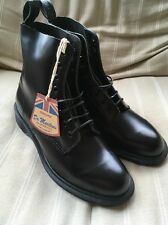 Dr Martens Made In England Pascal Boanil Brush Boots UK 9 Black