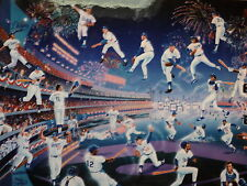 """""""Doger Stadium - 30 Years of Memories"""" Serigraph by Melanie Taylor Kent (Signed)"""