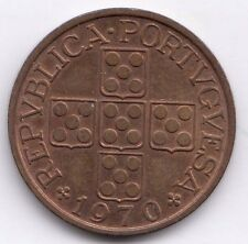 Portugal 1 Escudo 1970 really nice condition