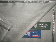 "DORMEUIL ""KRONO"" LUXURY WOOL SUITING FABRIC 3.4 m. - MADE IN ENGLAND BY Dormeuil"