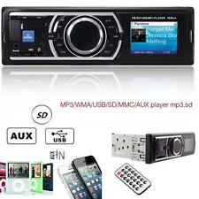 Car Auto Stereo Audio In-Dash Aux Input Receiver SD USB MP3 FM Radio Player