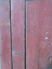 Reclaimed Red Barn Spruce Pine Boards Old Growth Sign Stock Craft Item Furniture