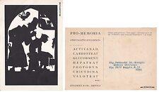 # SILHOUETTES - 1940  MEDICO CART. PER PUBBLICITA' ZILLIKEN & CO - GENOVA