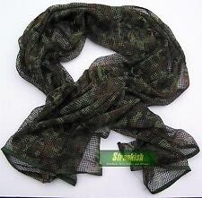 GERMAN ARMY BUNDESWEHR STYLE SCRIM NET SCARF in FLECKTARN CAMO 6X3FT