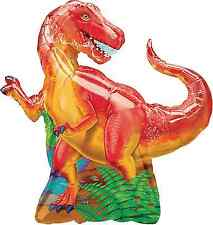 Tyrannosaurus Rex Dinosaur Foil Balloon Birthday Party Decoration Supplies T Rex