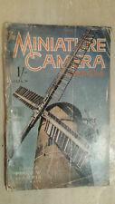 VINTAGE MAGAZINE: THE MINIATURE CAMERA MAGAZINE - JULY 1938 VOL.II NO.8