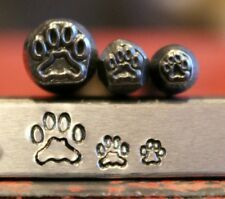 Supply Guy Dog Paw Metal Design 3 Stamp Set Made in USA (SG37544M50NJ7)