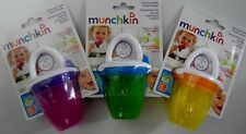 Munchkin Deluxe Fresh Food Feeder Yellow Green Pink 3 Count