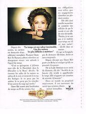 PUBLICITE  1997   ROLEX  montre LADY date-Just 69138