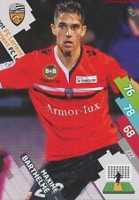 FCL-07 MAXIME BARTHELME # FC.LORIENT CARD ADRENALYN FOOT 2015 PANINI