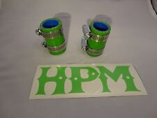 "HPM 5 Ply "" LIME GREEN "" BANSHEE Exhaust Couplers"