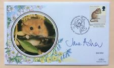 20.1.98, Endangered Species, Dormouse. Sig. JANE ASHER. London Zoo. Ltd Edition.