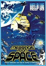 MESSAGE FROM SPACE (Vic Morrow) - DVD - Region 1 Sealed